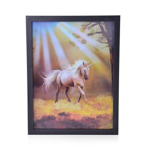 Unicorn 3D Printed Framed Picture (17x13 in)