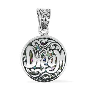 Bali Legacy Collection Abalone Shell Sterling Silver Dream Pendant without Chain (2.7 g)