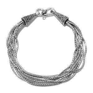 Artisan Crafted Sterling Silver Bracelet (8.00 In)