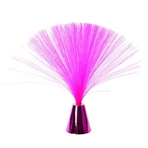 Pink Mini Fiber Optic Light (Requires 3AAA Batteries) (Not Included)