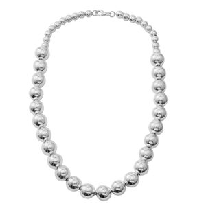 Sterling Silver Necklace (18 in) (35 g)