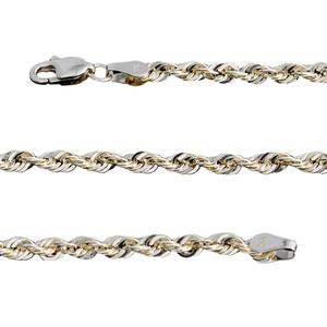 10K YG Rope Chain (18 in)