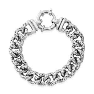Sterling Silver Men's Link Bracelet (7.50 In)