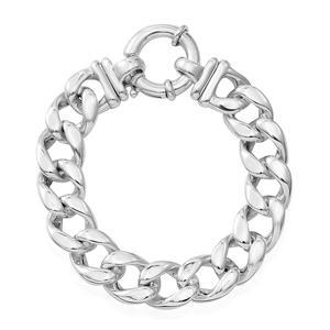 Sterling Silver Men's Link Bracelet (8.00 In)
