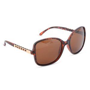 Solar X Eyewear - Brown Leopard UV 400 Tac Polarized Fashion Sunglasses with Link Temple