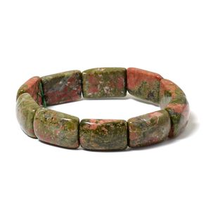 Unakite Bracelet (Stretchable) (7.00 In) TGW 229.50 cts.