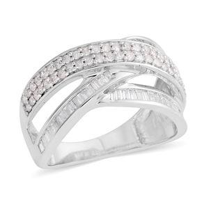 10K WG Diamond Ring (Size 7.0) TDiaWt 0.75 cts, TGW 0.75 cts.