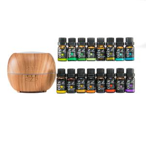 ART NATURALS Copper Color Essential Oil Diffuser with Top Natural Oils (16-10ml)