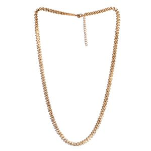 ION Plated YG Stainless Steel Necklace (24-26 in)