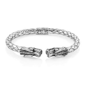 Bali Legacy Collection Sterling Silver Cuff (7.50 in, 36.4 g)