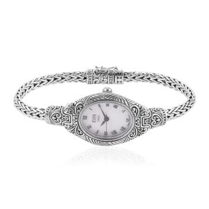 EON 1962 Swiss Movement Water Resistant Ladies Watch in Sterling Silver